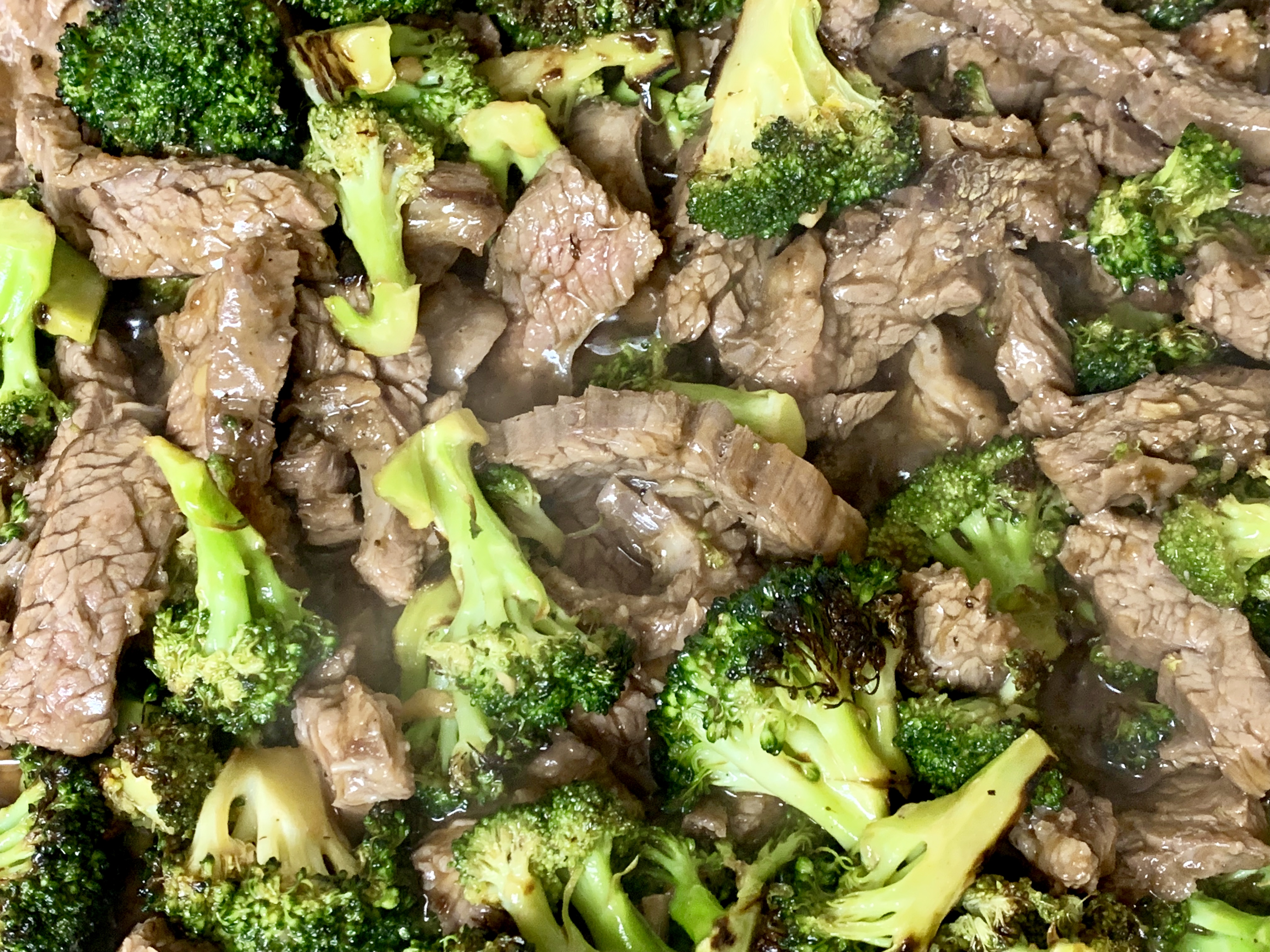 Charred Broccoli Beef
