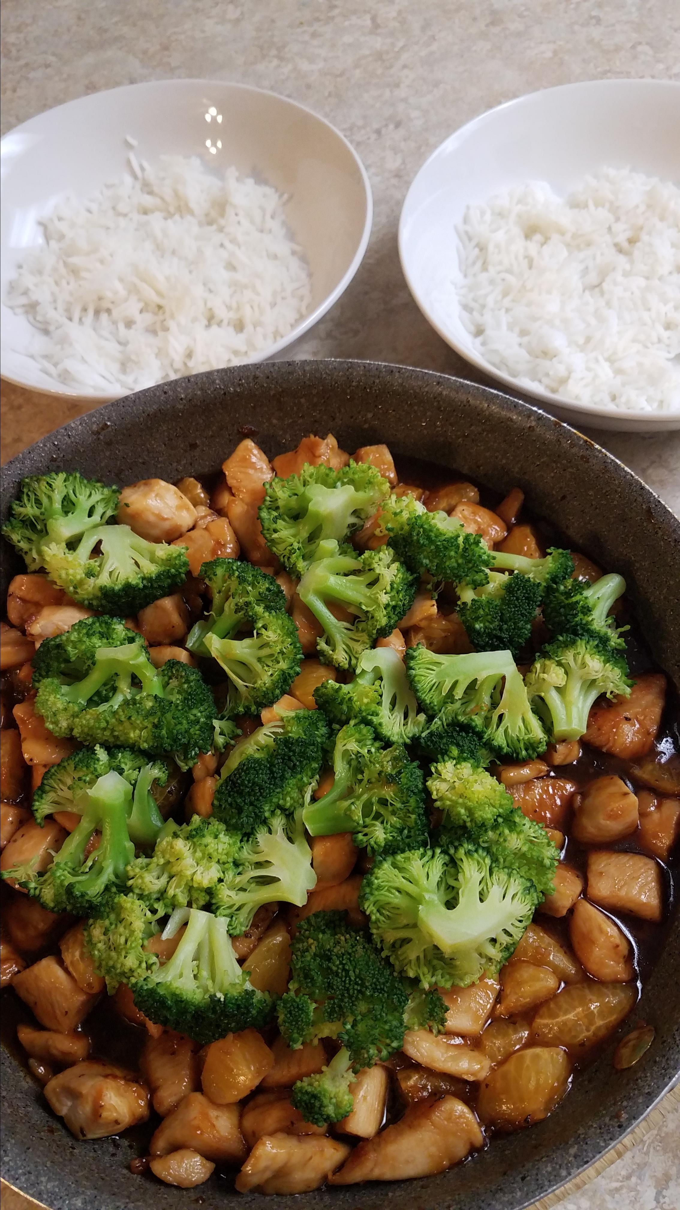 Mama's Asian Chicken and Rice Randy Varga