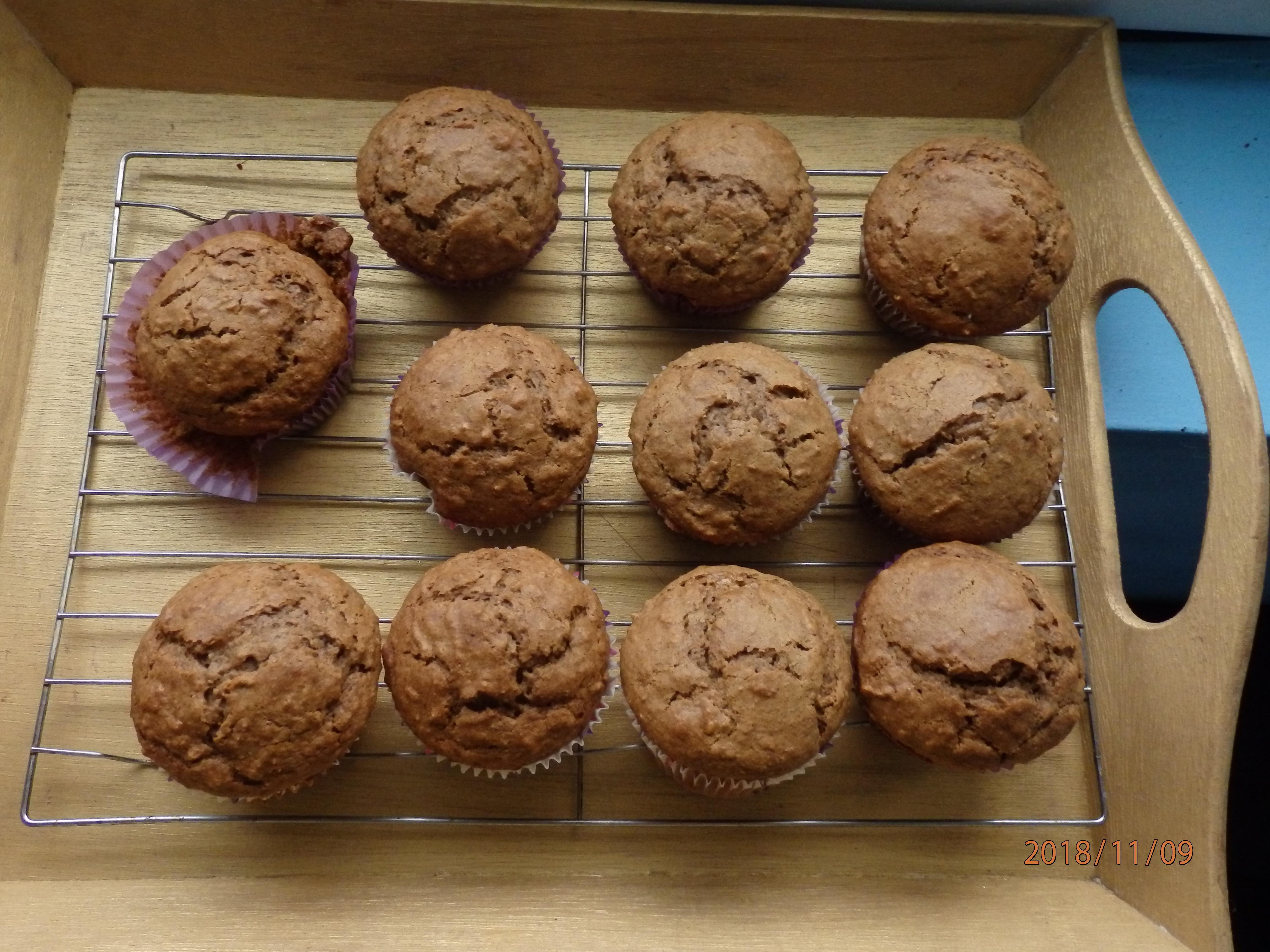 Yummy Bran Muffins Claire Bear