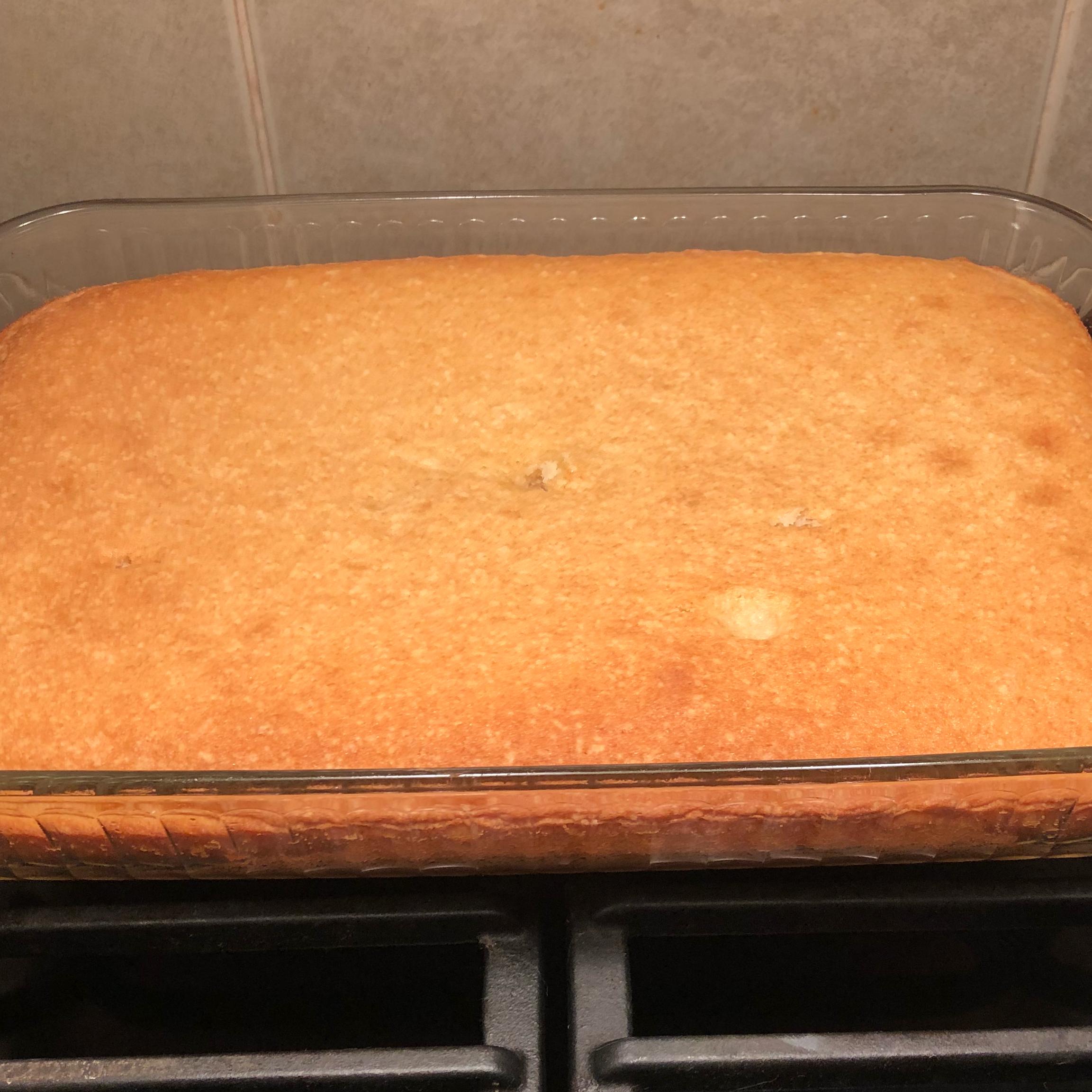 Thirty Minute Yellow Cake
