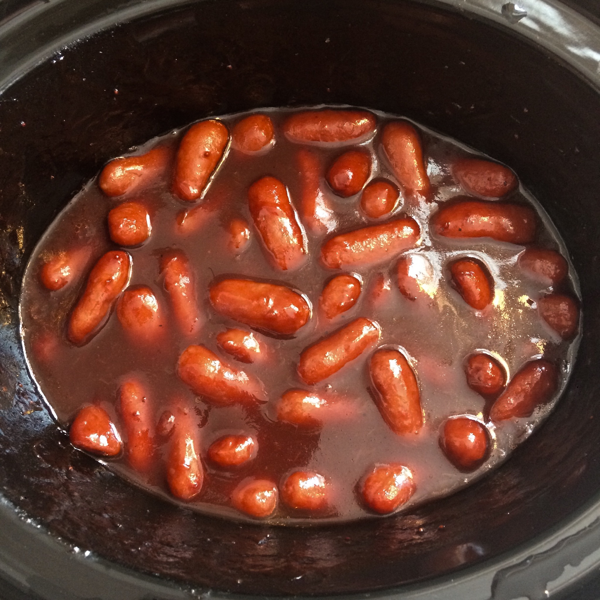 Slow Cooker Cocktail Smokies