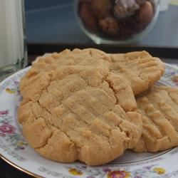 Melt In Your Mouth Peanut Butter Cookies Angie M
