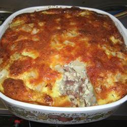 Baked Omelet Squares Jeanette