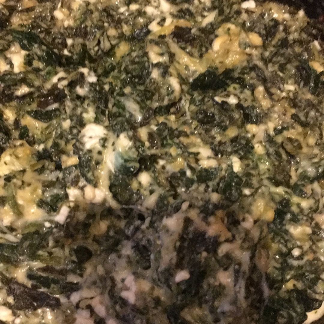 Slow Cooker Creamed Spinach Nicky