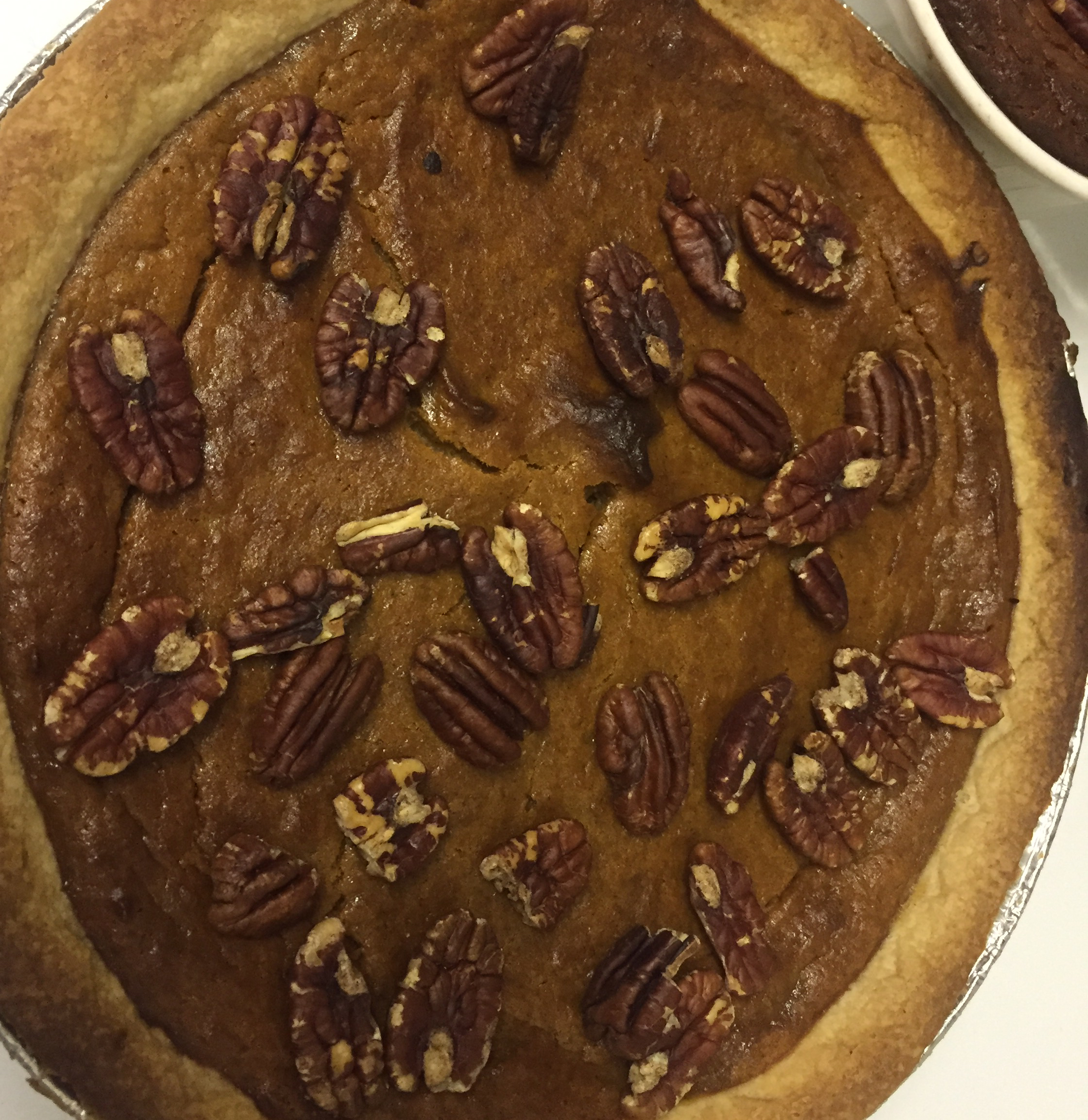 Sweet Potato Butternut Squash Pie dknite