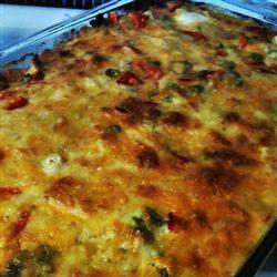 Make Ahead Breakfast Casserole amy jane