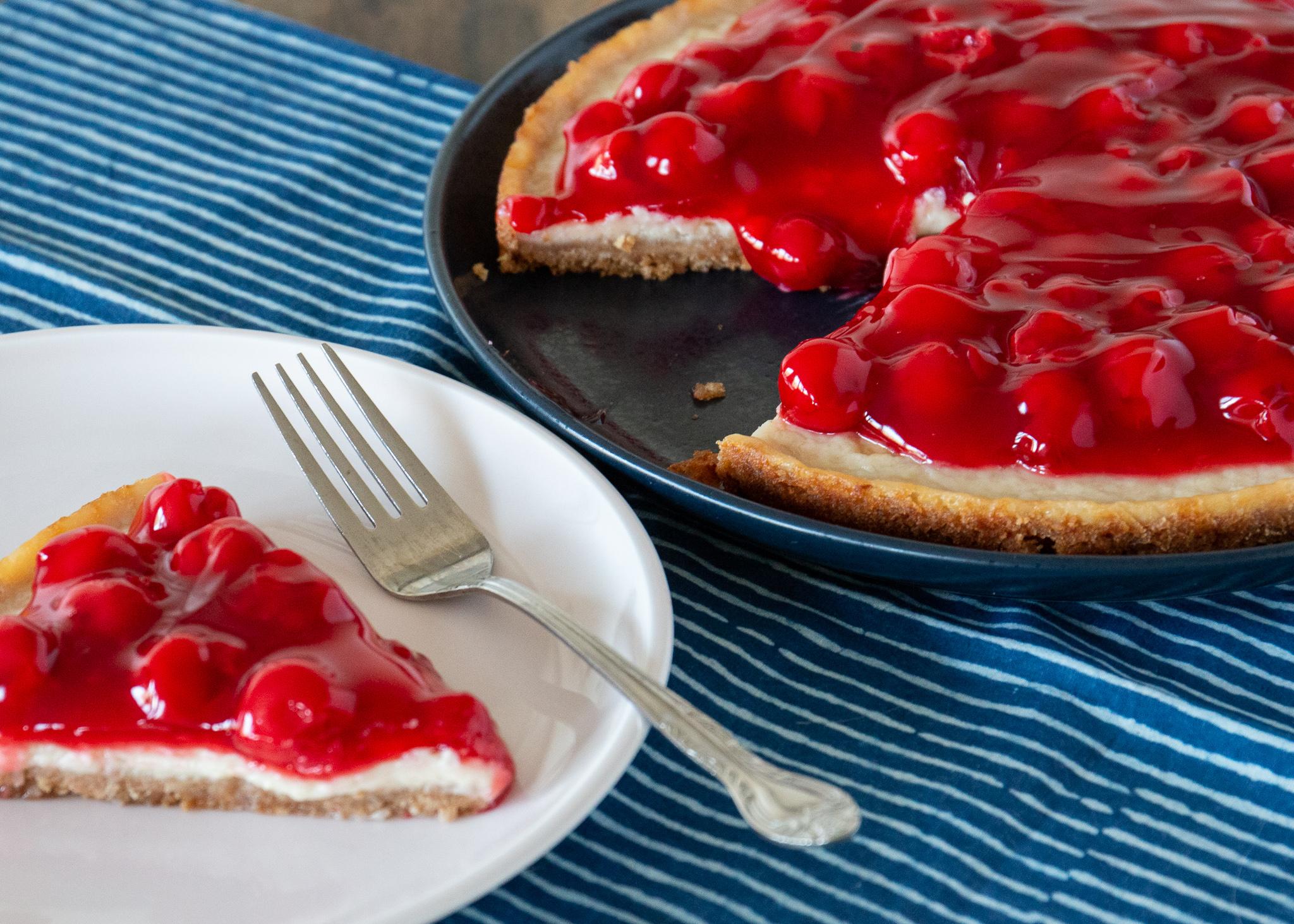 Cherry Cheezecake Maureen Cram