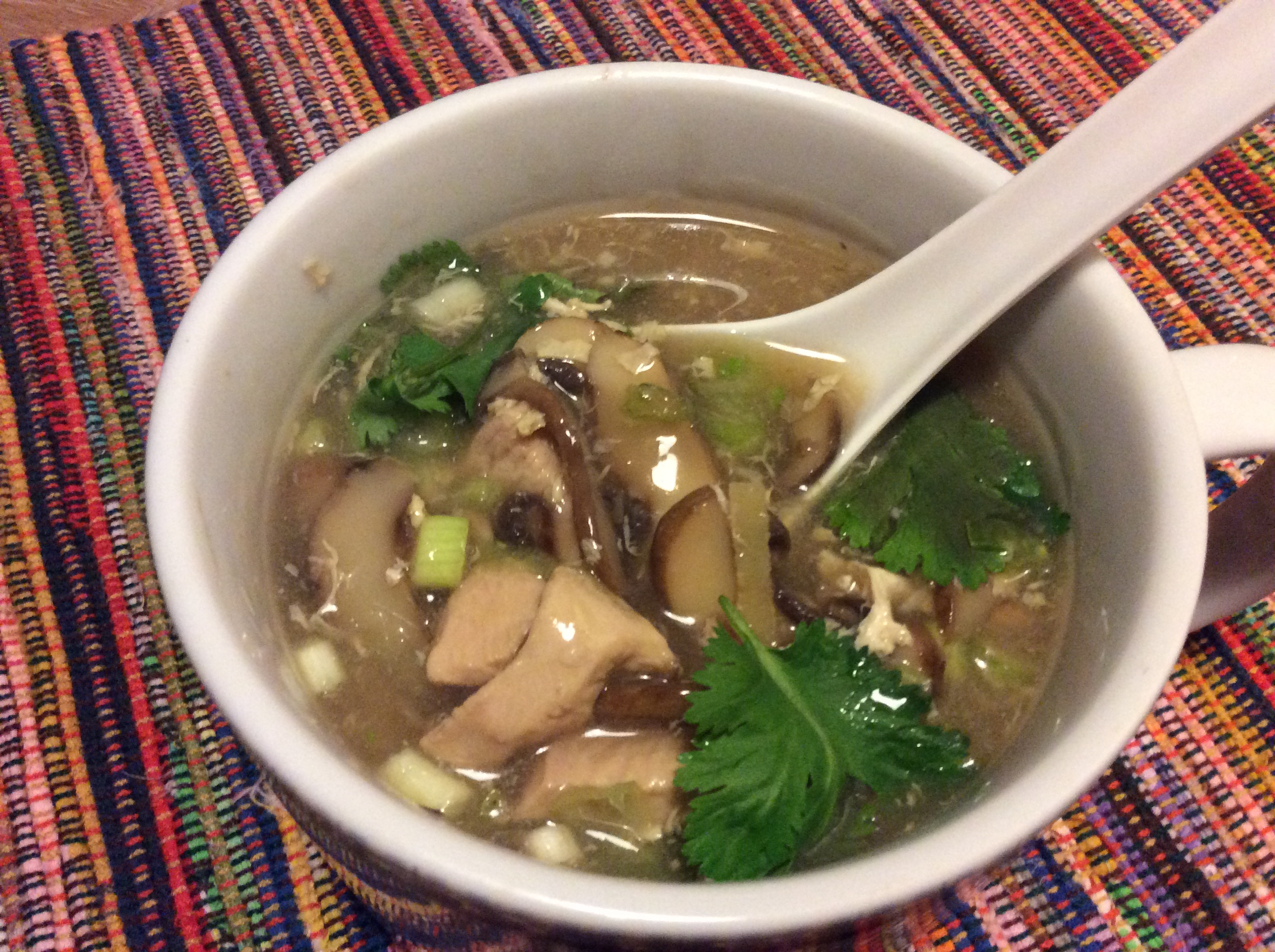 Hot and Sour Chicken Soup Bonnie Grant