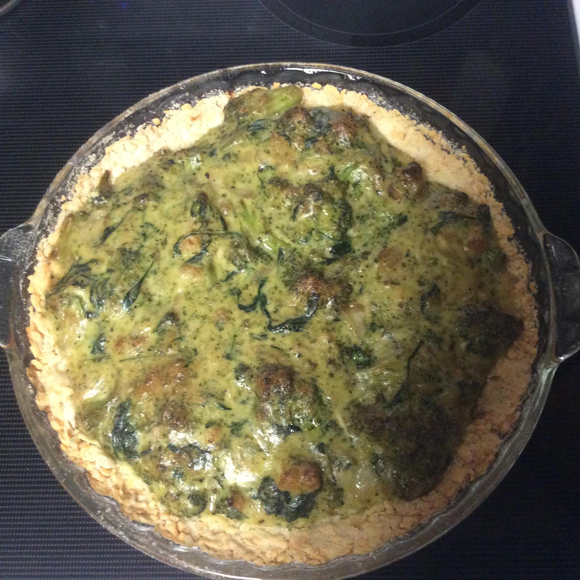 Broccoli Cheese Pie AKVwoman