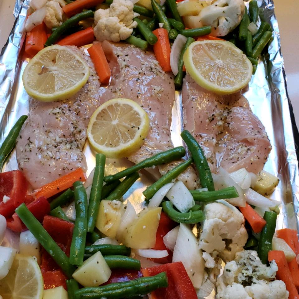 Lemony Mediterranean Chicken Kalijade