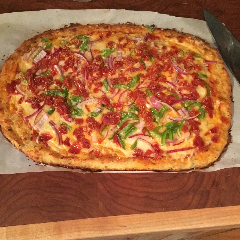 Cauliflower Pizza Bites Dolfan Tommy Kramer