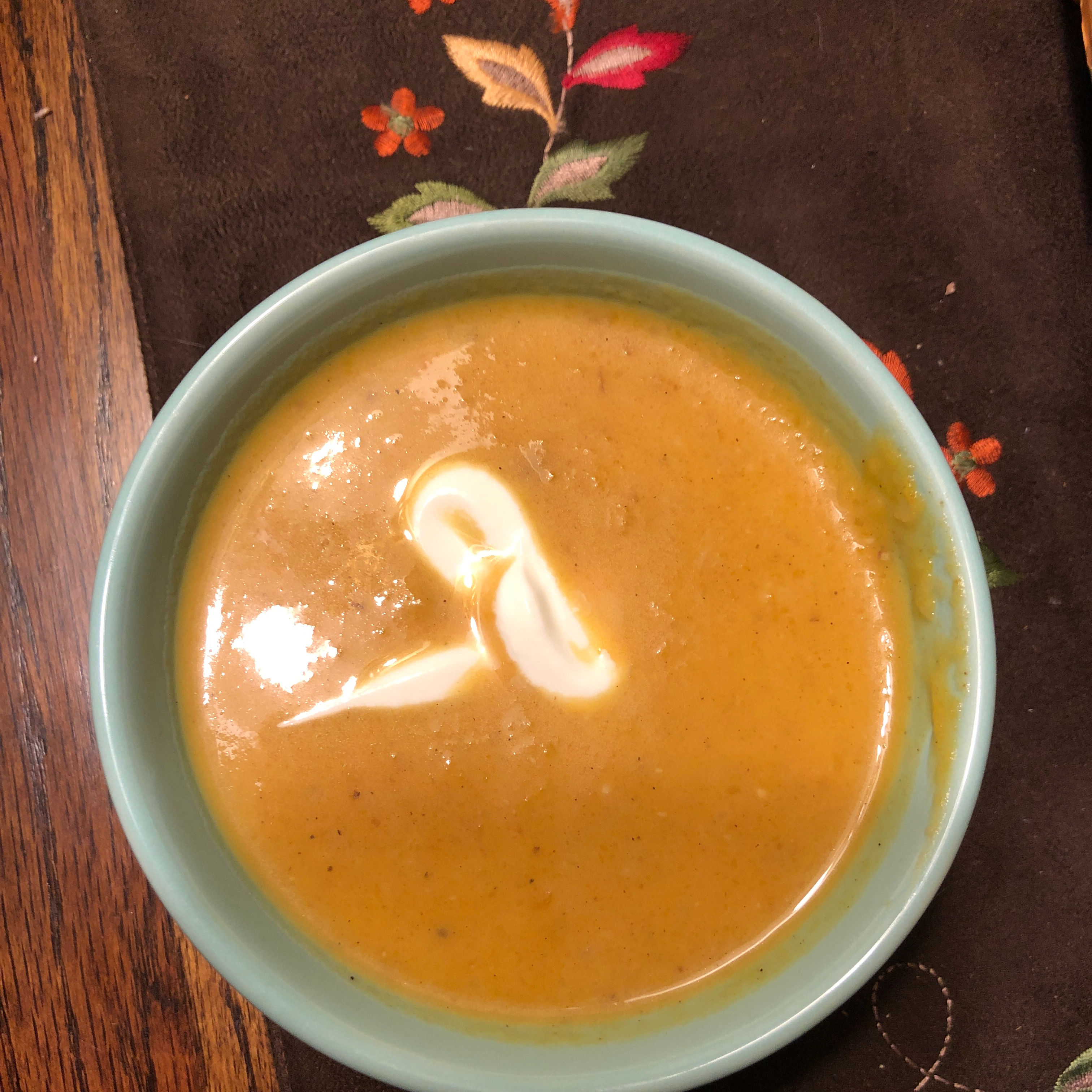 Roasted Butternut Squash and Fennel Soup with Citrus ANSWOOD