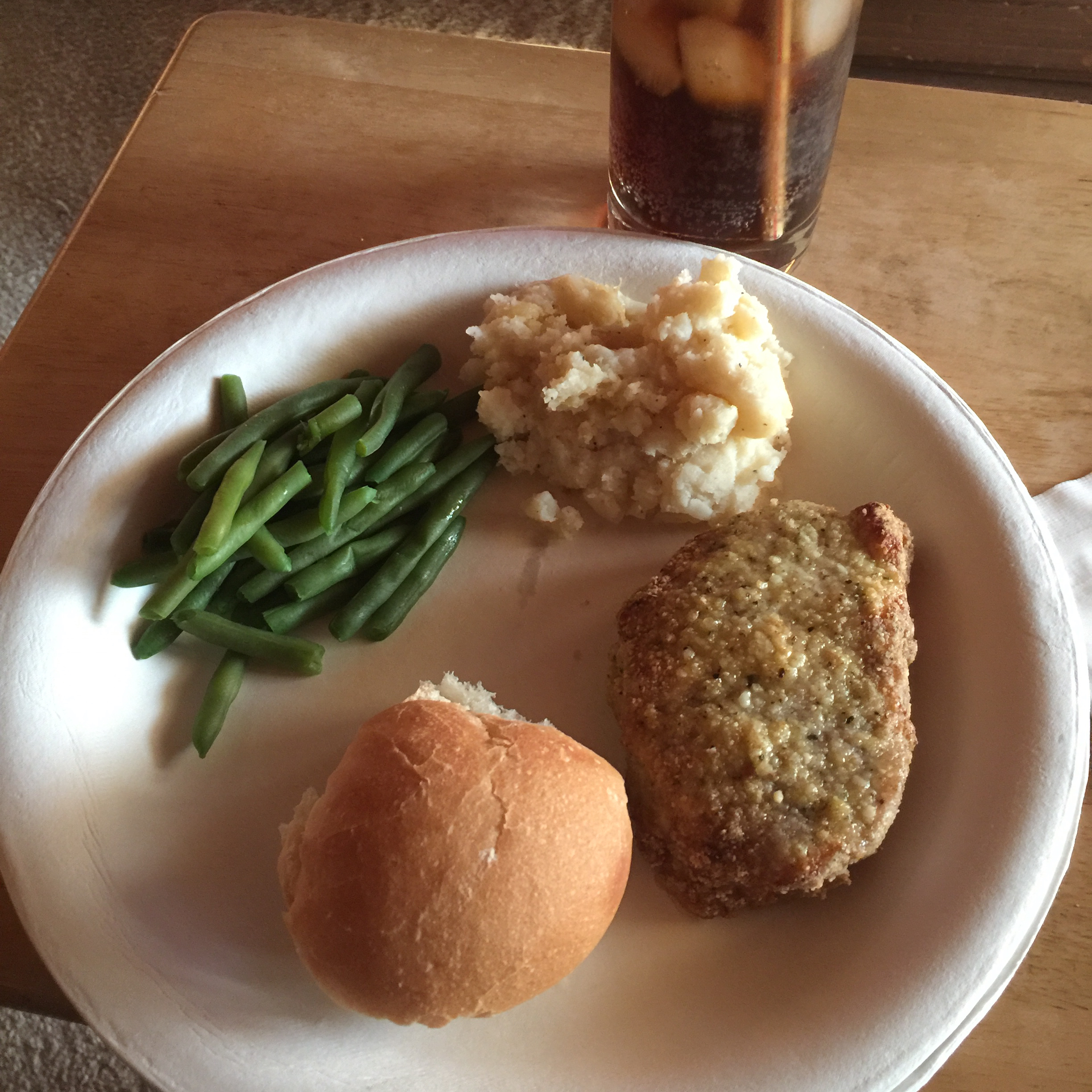 Parmesan-Crusted Pork Chops Rhonda Burns