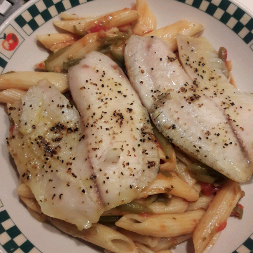 Lemon and Herb Fish Skillet Michelle Seace Traino