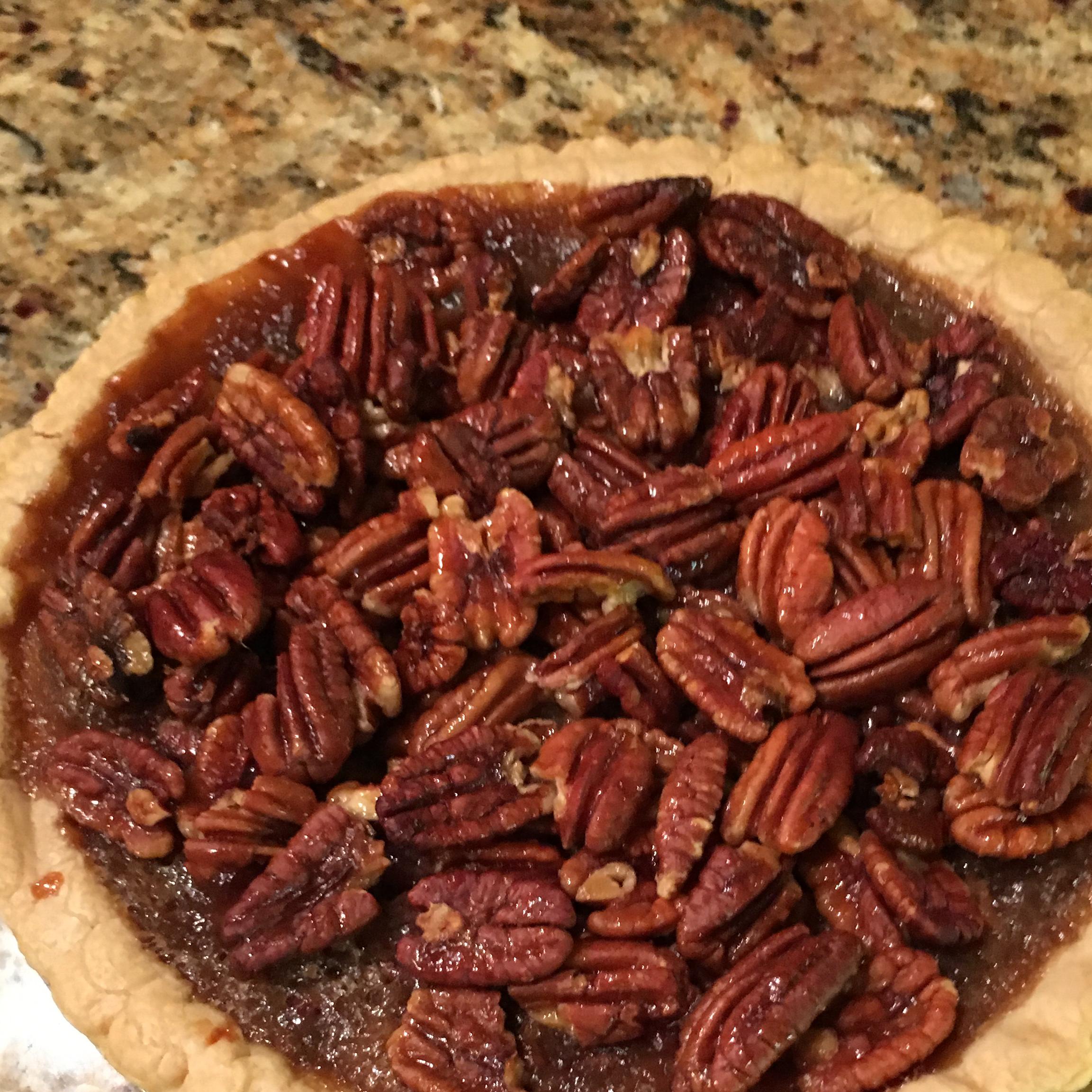 Honey Crunch Pecan Pie