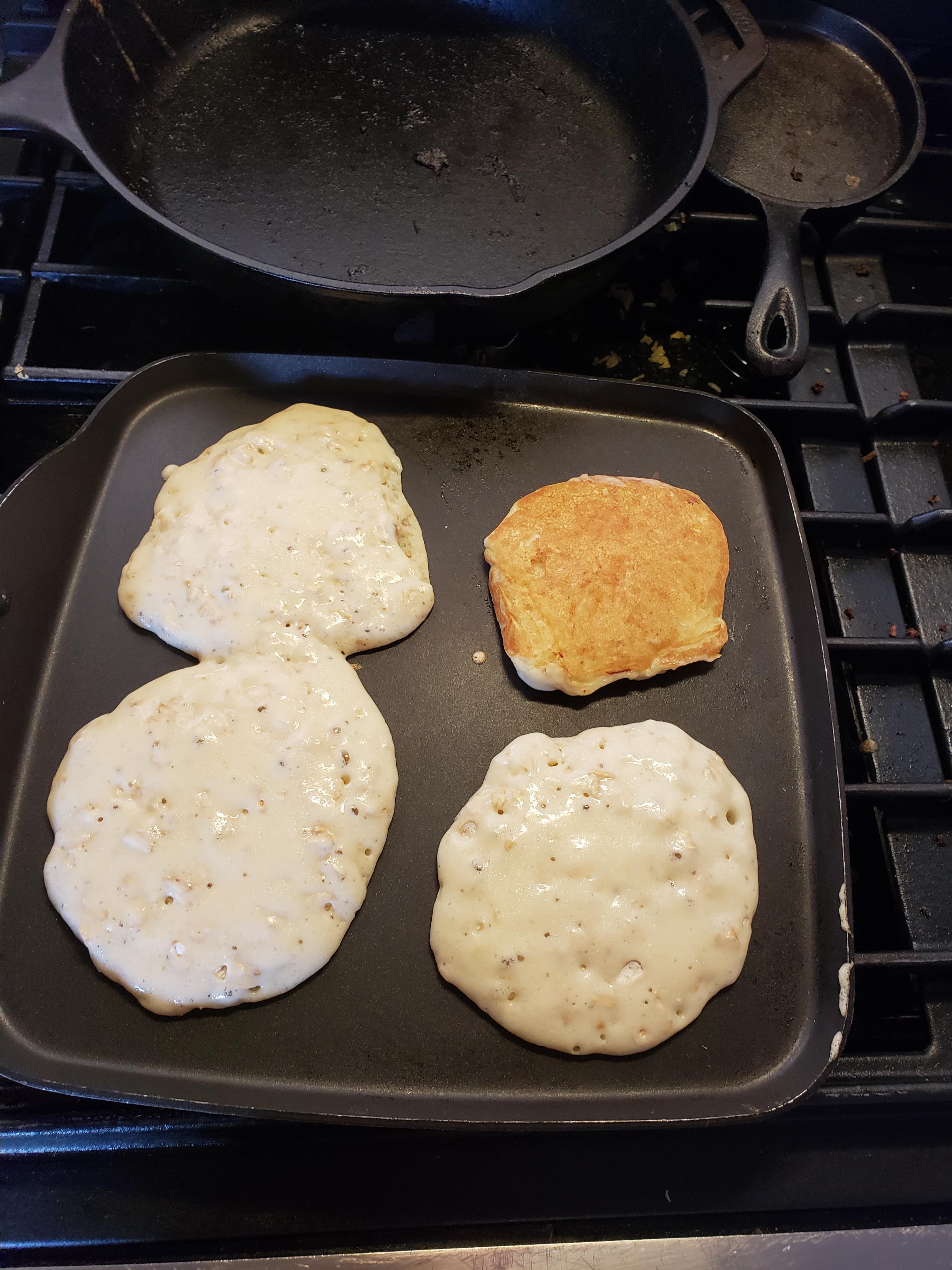 Oatmeal Pancakes II