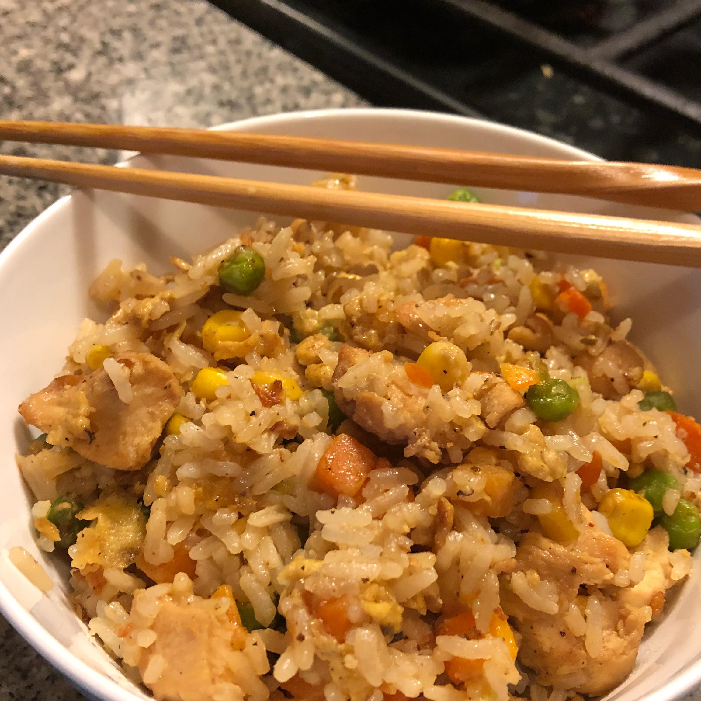 Chinese Chicken Fried Rice II Keriann Aronson