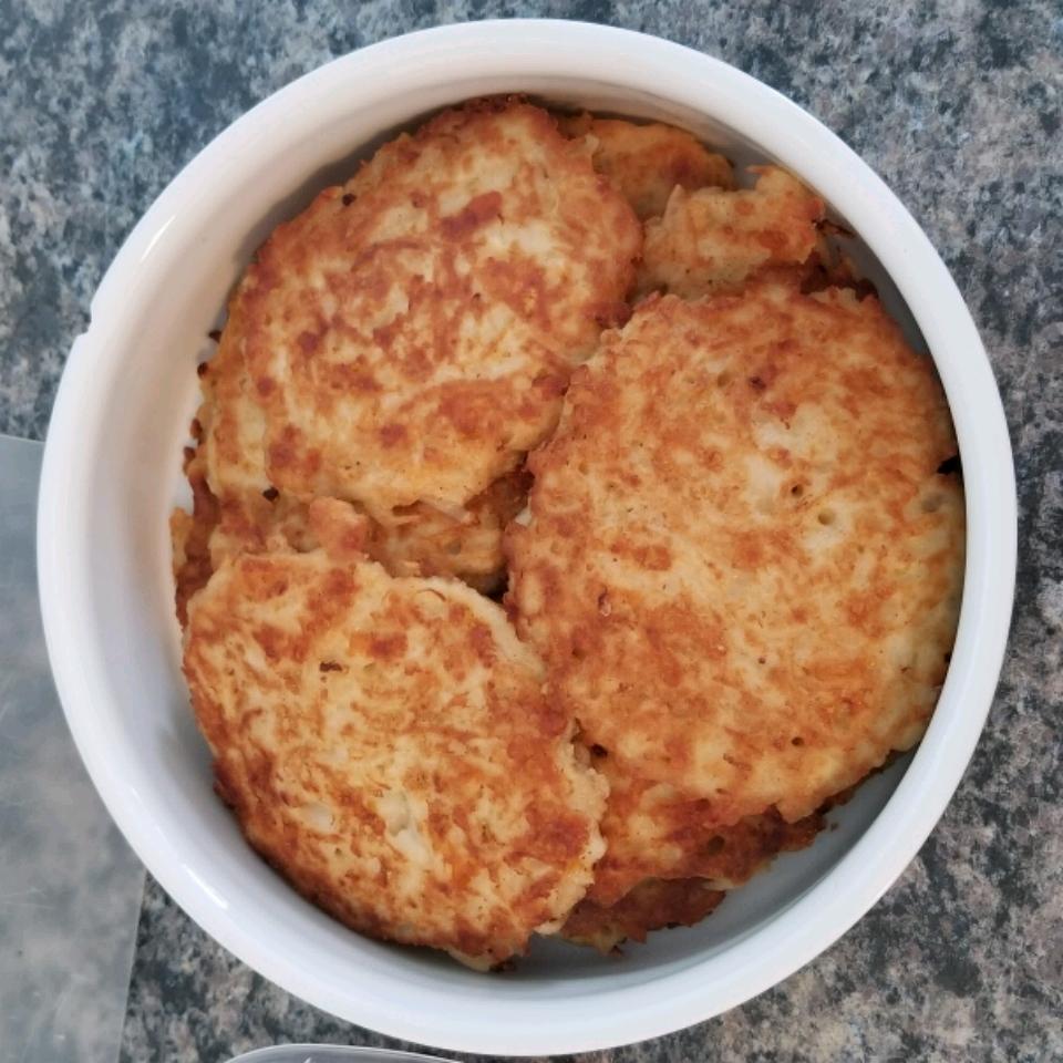 Cheesy Potato Pancakes Tamara Severson