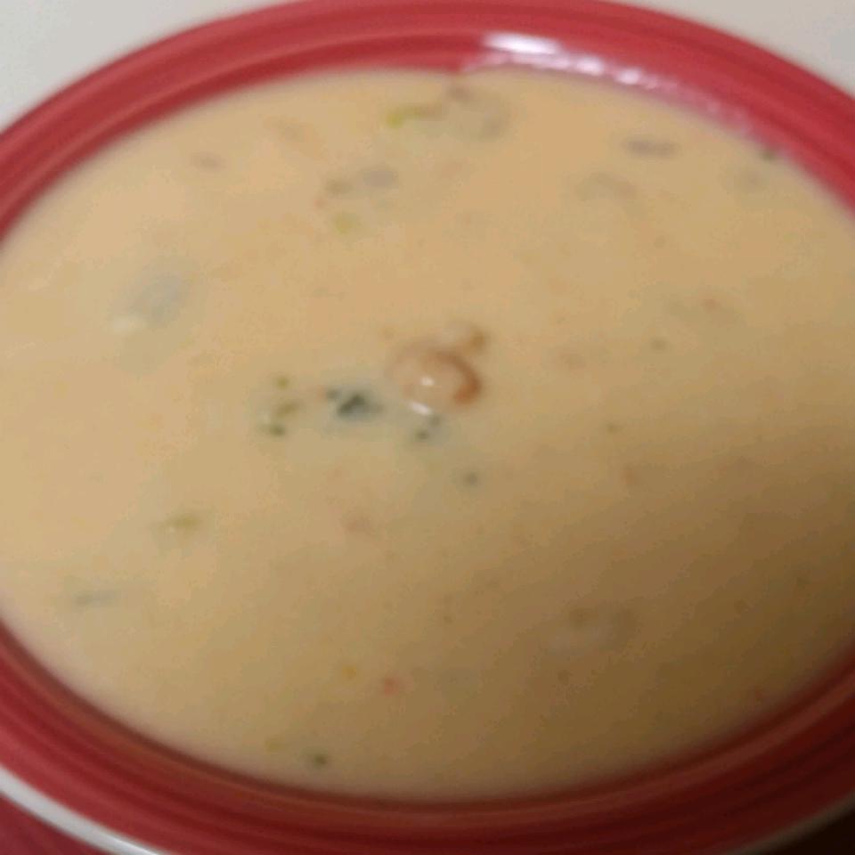 Broccoli Crawfish Cheese Soup Yelena