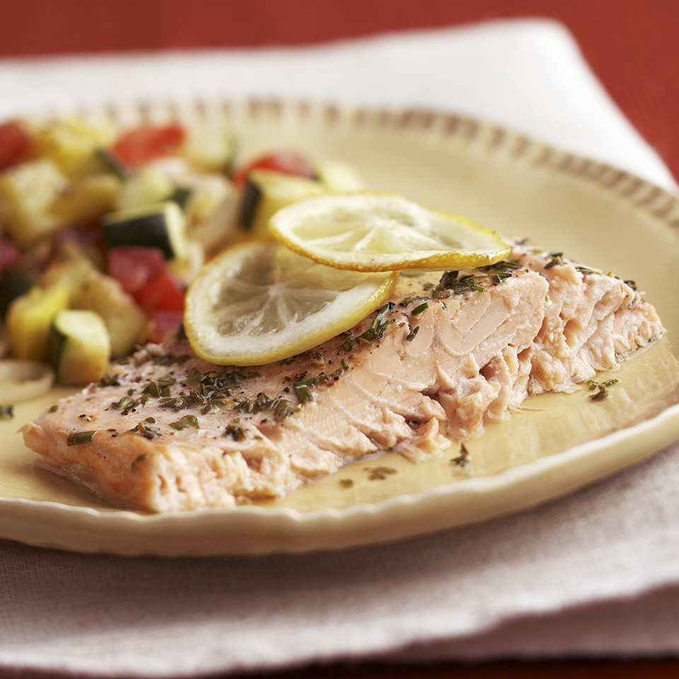 Baked Herb Salmon Diabetic Living Magazine