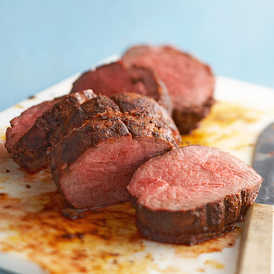 Spice-Rubbed Beef Tenderloin Diabetic Living Magazine