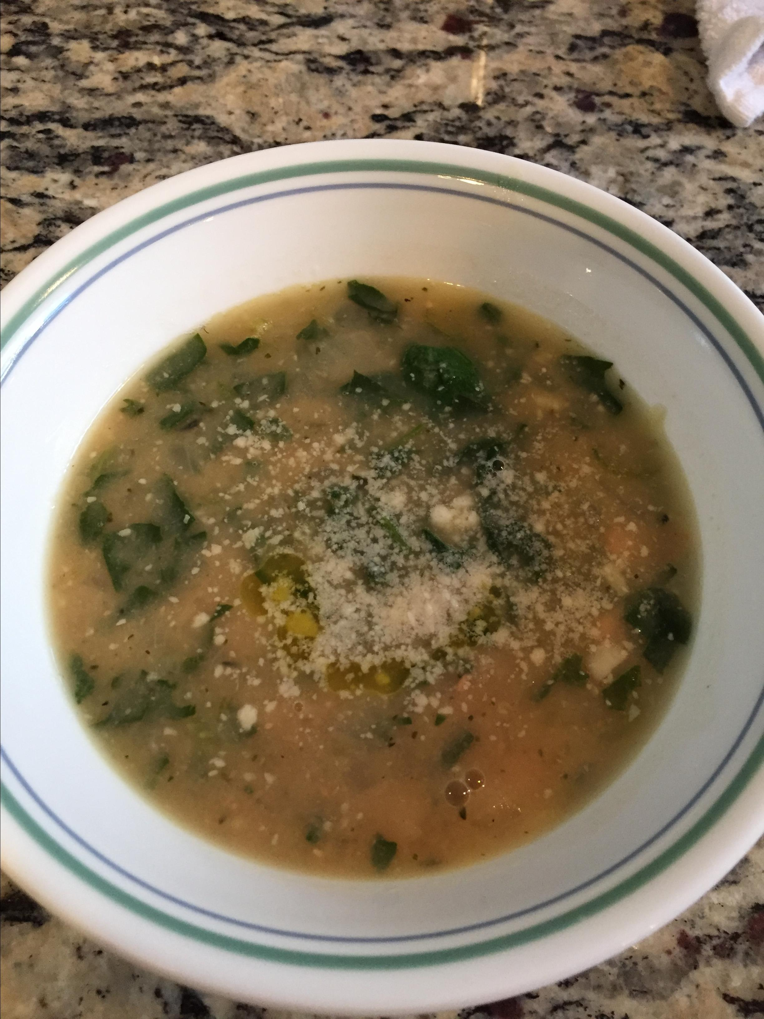 Creamy Italian White Bean Soup Ronnie