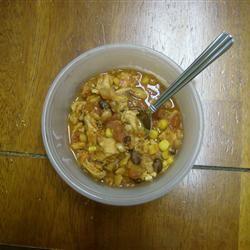 Chicken and Two Bean Chili JoeRik