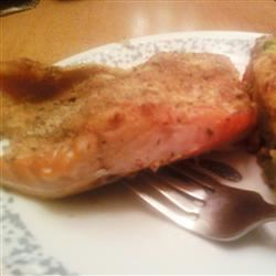 Wasabi Mayo Salmon Jewelsmom