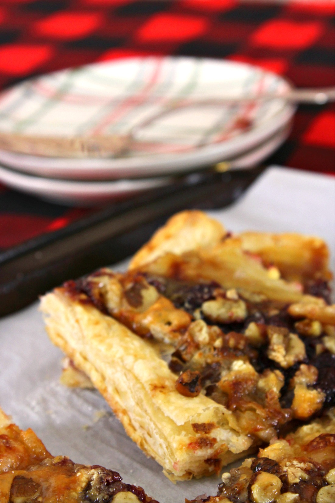 Cranberry-Brie Puff Pastry Sandra Garth