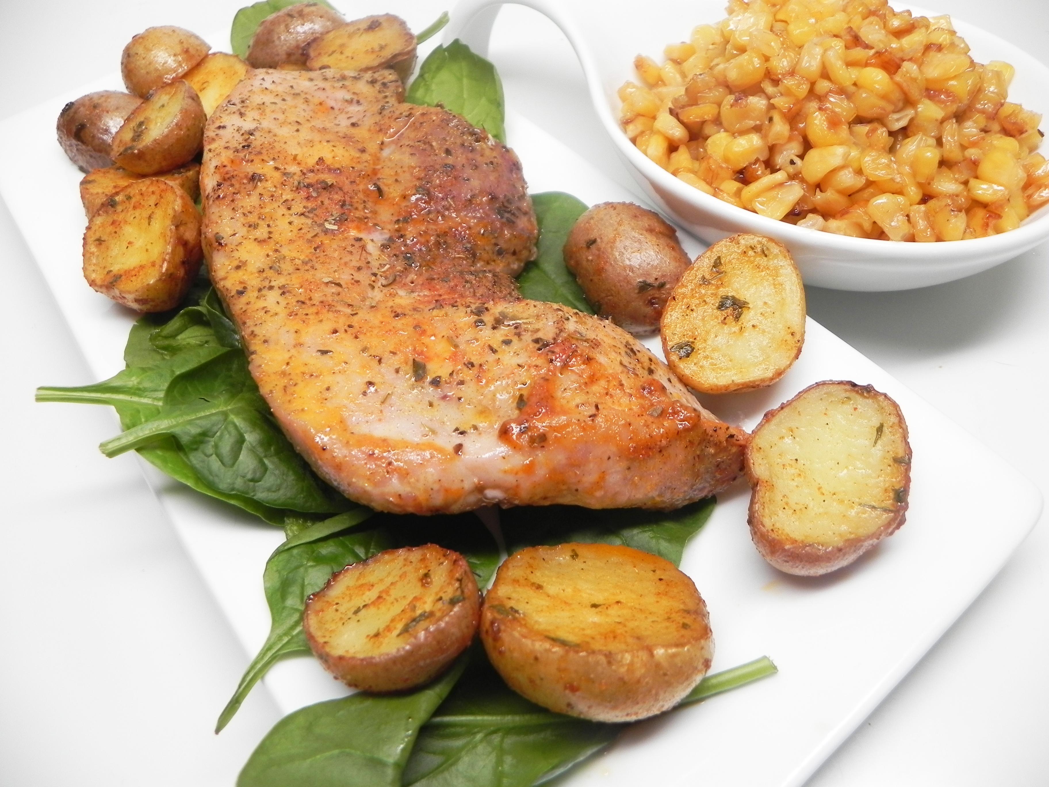 Marinated Brined Pork Chops Don M.