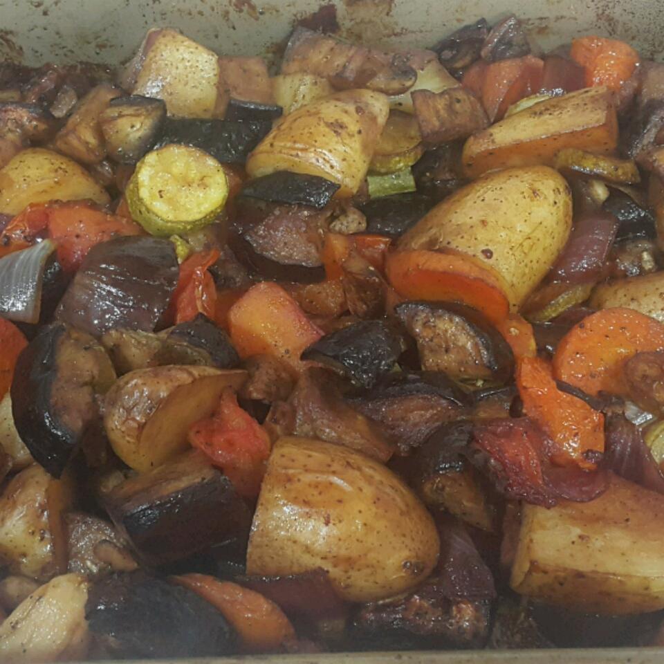 Grilled Vegetables with Balsamic Vinegar Faslie Miller