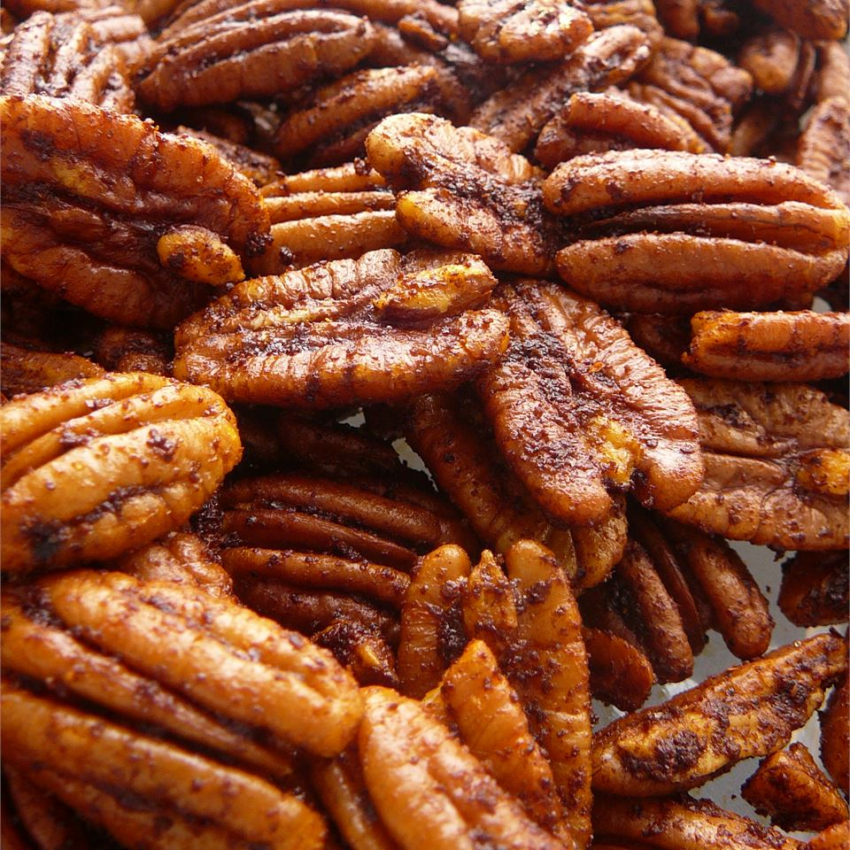 Hot and Spicy Pecans Jenni