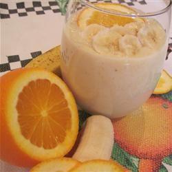 Banana-Orange Smoothie Candice