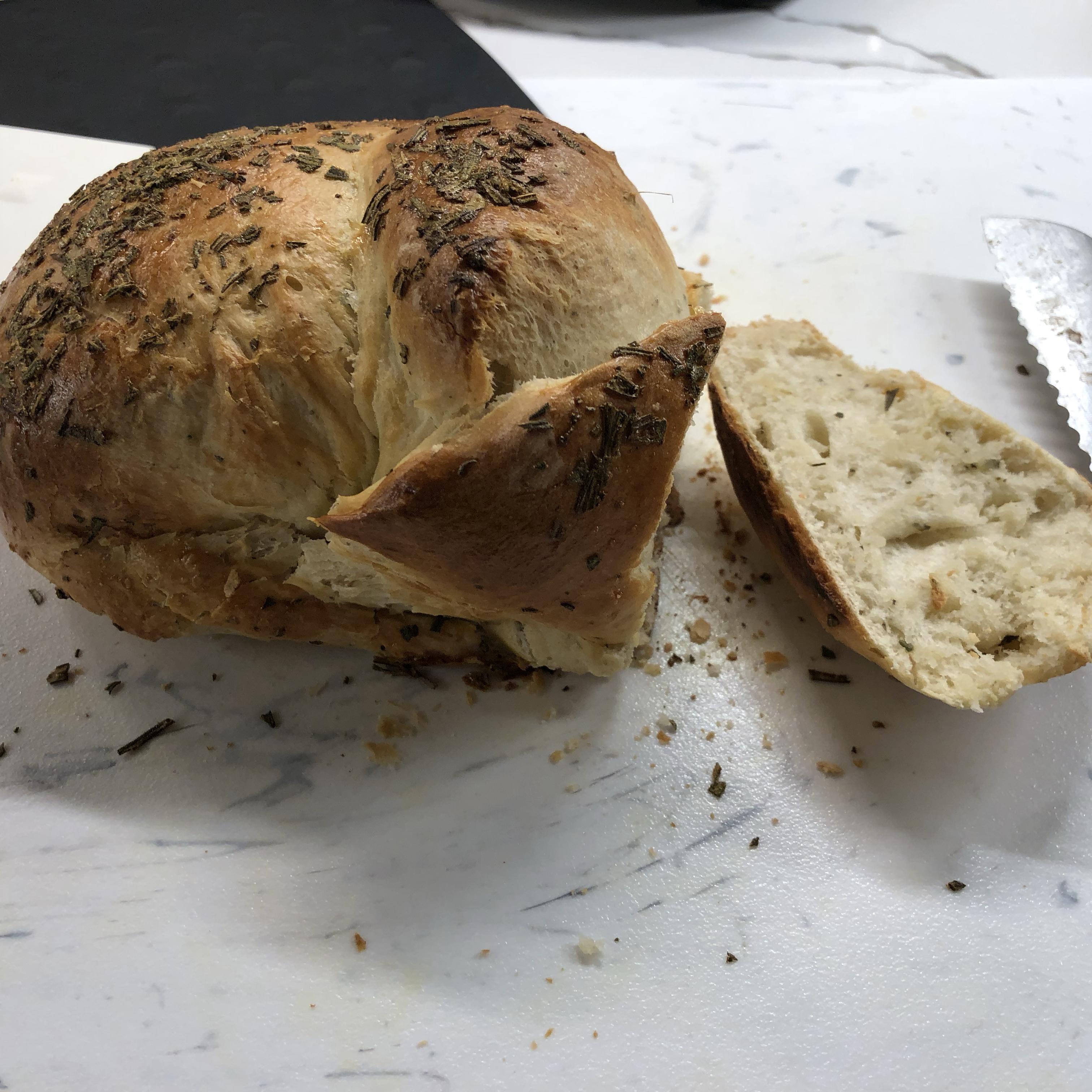 Delicious Rosemary Bread GOVEGGIE