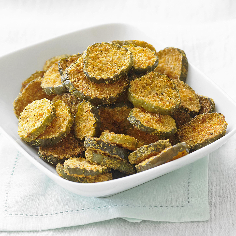 Oven-Fried Dill Pickles Diabetic Living Magazine
