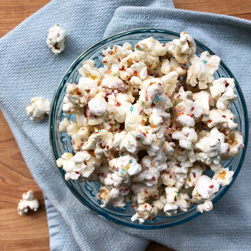 Hot Cocoa Microwave Popcorn Recipe