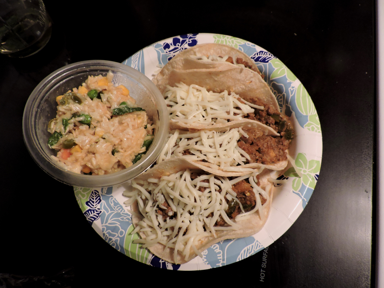 Turkey and Yam Spicy Tacos charm