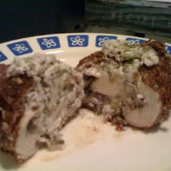 Pecan Chicken Breasts Stuffed with Cream Cheese and Broccoli Cookin with Keith & Sara