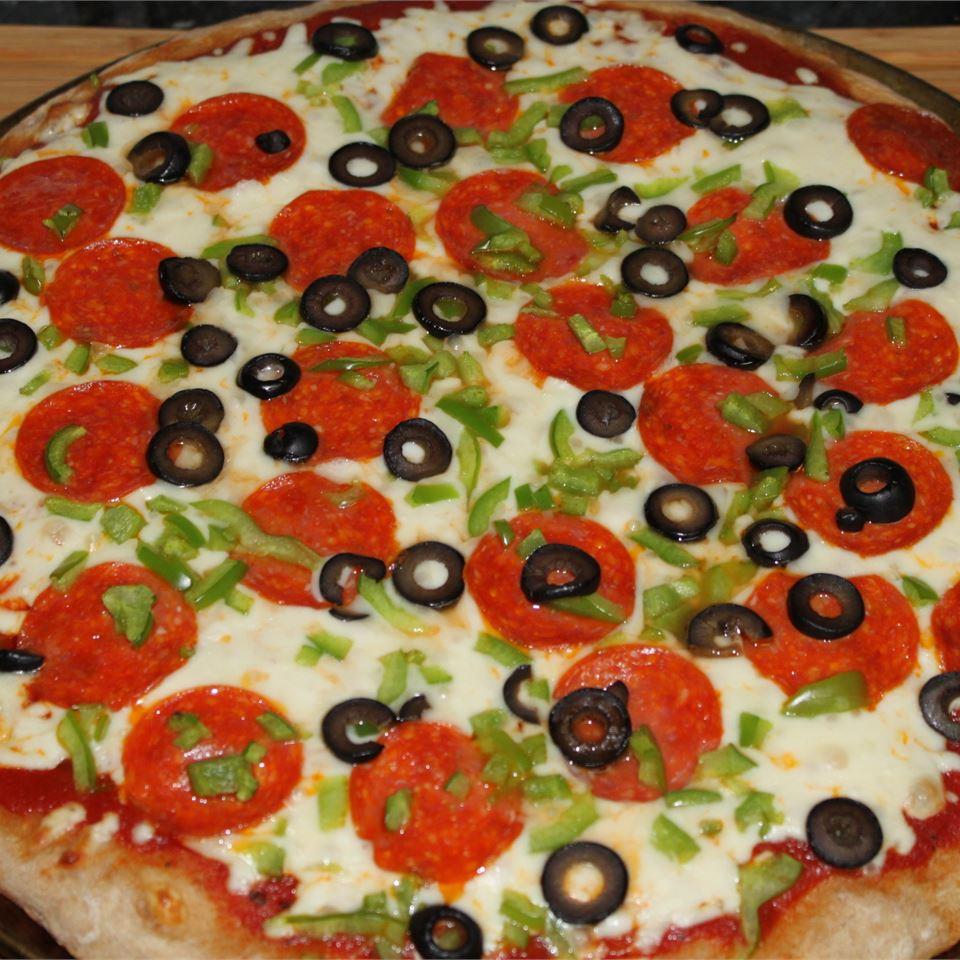 Amazing Whole Wheat Pizza Crust Kerri Jaggers