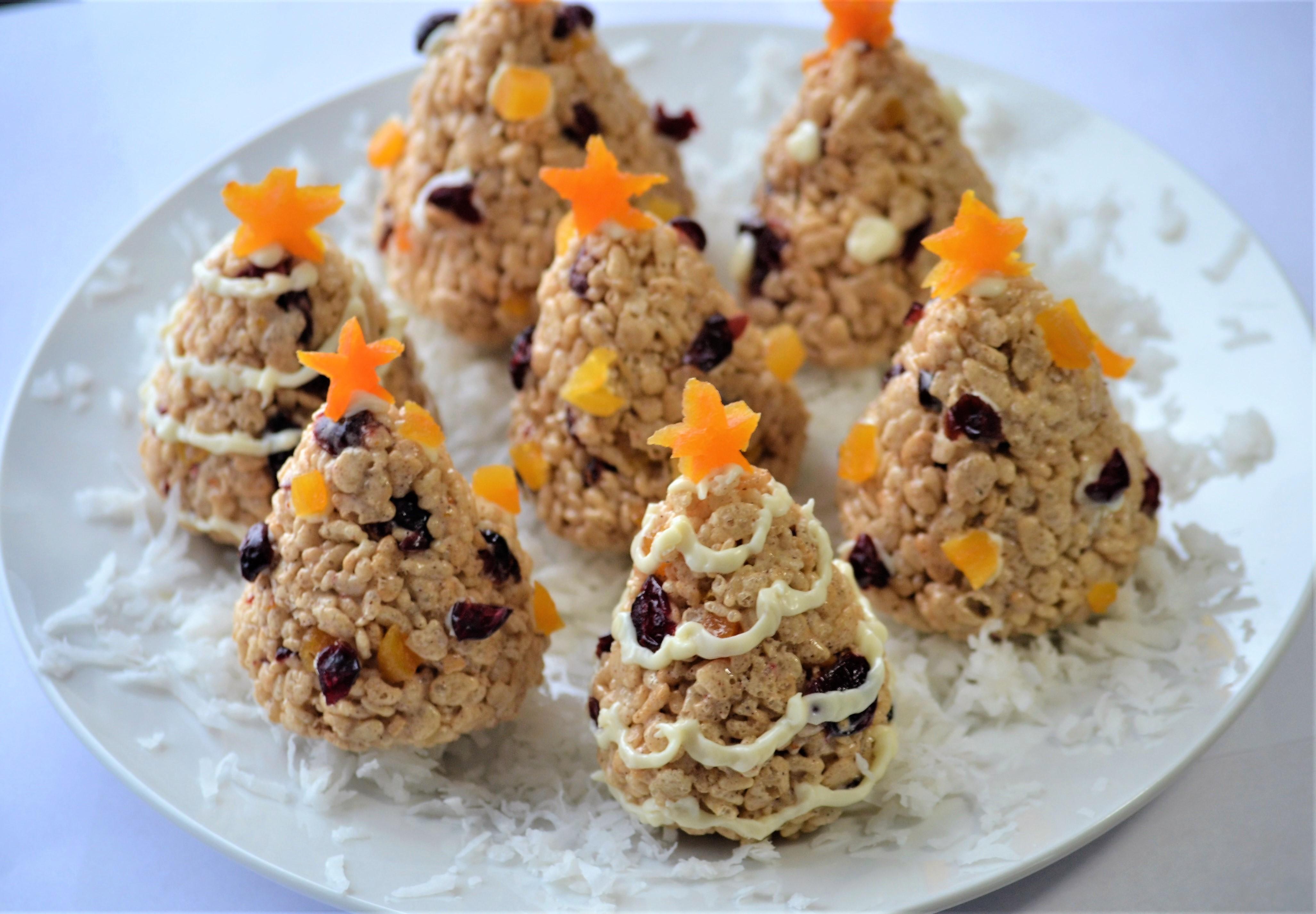 Christmas Rice Krispies® Trees