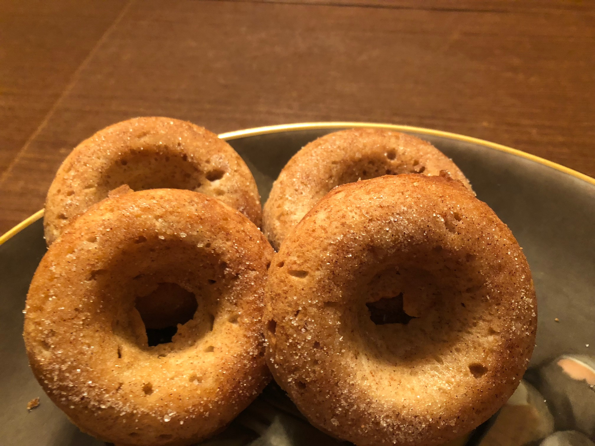 Baked Spiced Cake Donuts