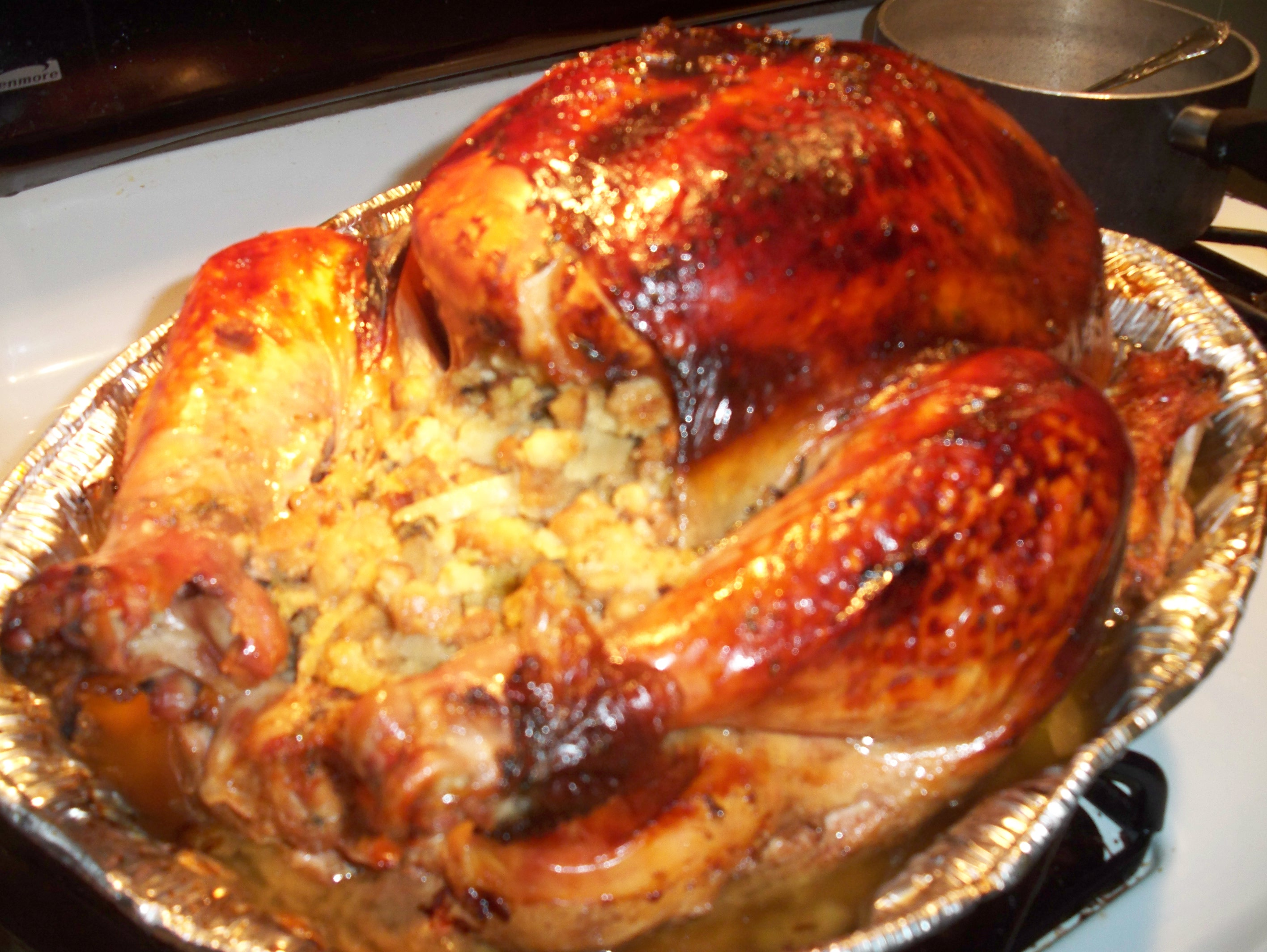 Maple Roast Turkey and Gravy