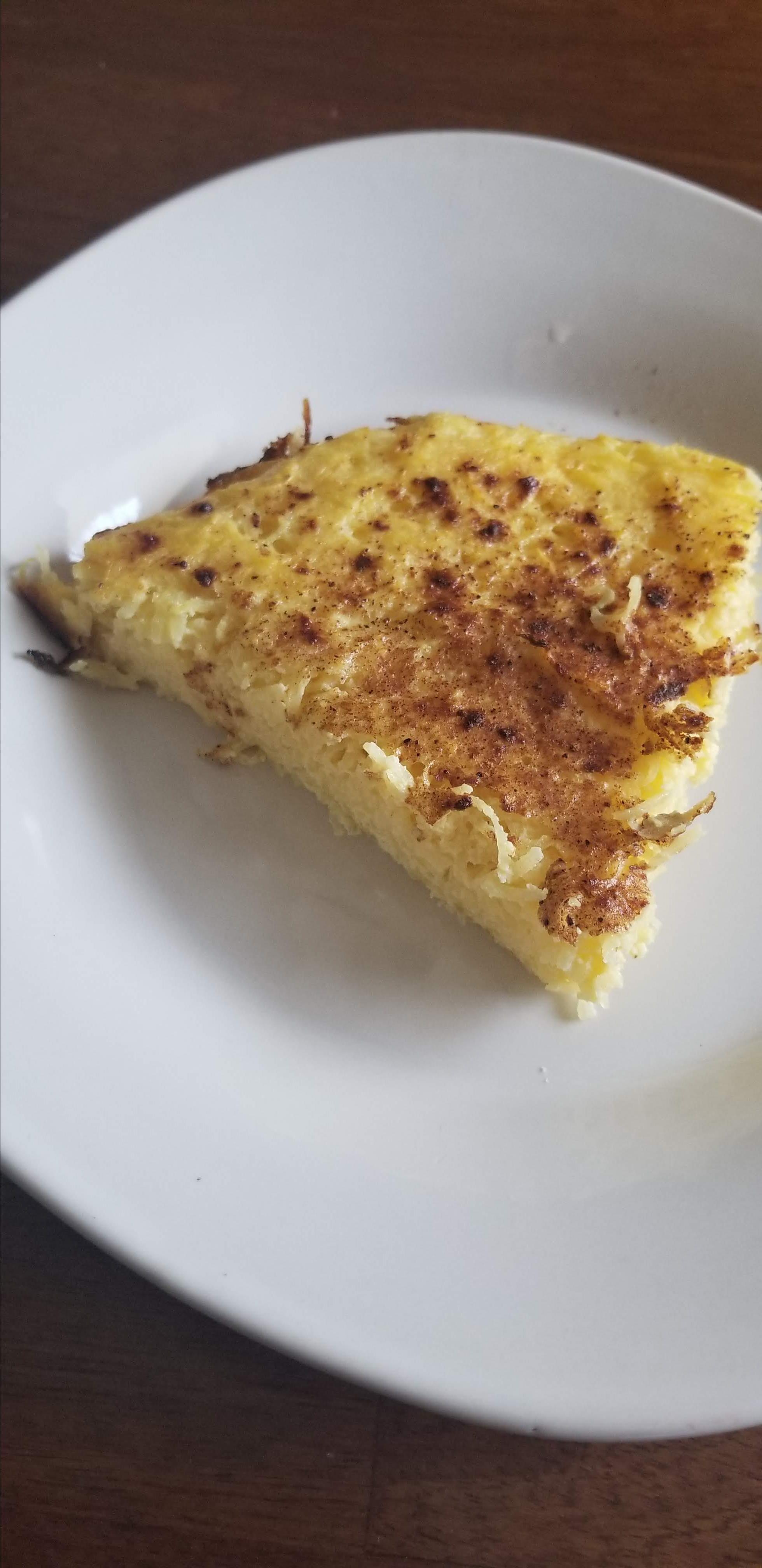 Mock Coconut Pie (Spaghetti Squash Pie) Nellie L