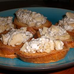 Apple Goat Cheese Bruschetta