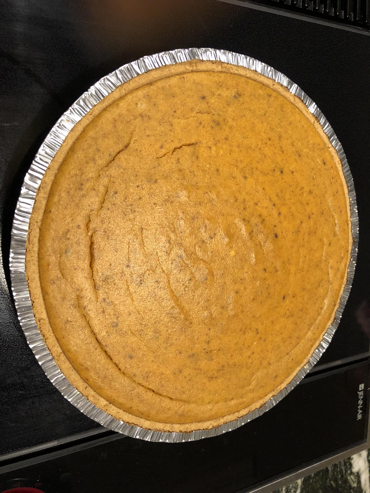 Pumpkin Cheesecake Pie Marilyn Troyer