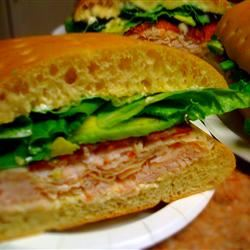 Turkey Bacon Avocado Sandwich ShawnaRae