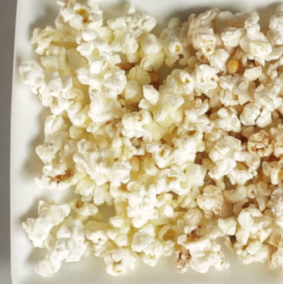 Make your own microwave popcorn--it's the simplest technique for making popcorn at home and only requires popcorn kernels and a single brown bag. You'll pop up a perfectly fluffy, light snack each time. Source: EatingWell.com, November 2018