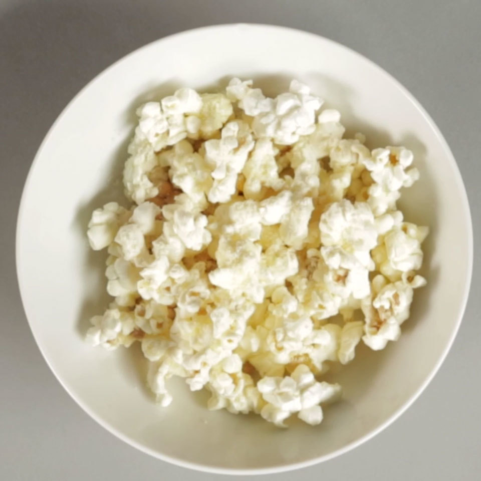 Nutty, salty and incredibly crispy, this cheesy popcorn snack is simple to make and sure to be a favorite snack. Source: EatingWell.com, November 2018