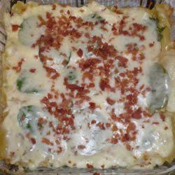 Cheesy Spinach Lasagna Cassie