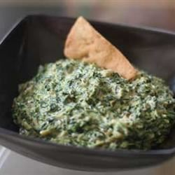 Indian Curried Spinach Dip
